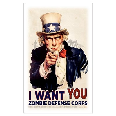 US ZDC Wall Art Poster
