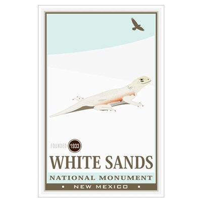 National Parks - White Sands 2 Wall Art Poster