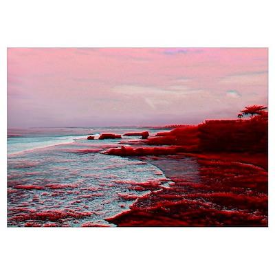 Bali Cliffs Wall Art Poster