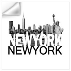 New York Skyline Wall Art Wall Decal