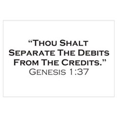 Credits / Genesis Wall Art Canvas Art