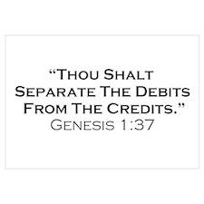 Credits / Genesis Wall Art