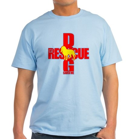 Rescue Dog Savior #3 Light T-Shirt
