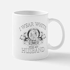I Wear White for my Husband ( Mug