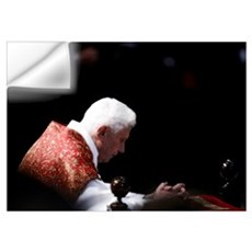 Pope Benedict XVI Wall Art Wall Decal