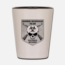 Zombie Response Team: Glendale Division Shot Glass