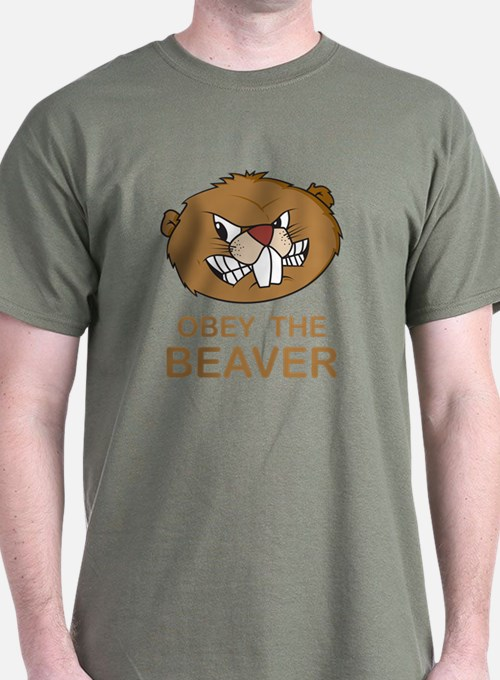Obey The Beaver T-Shirt