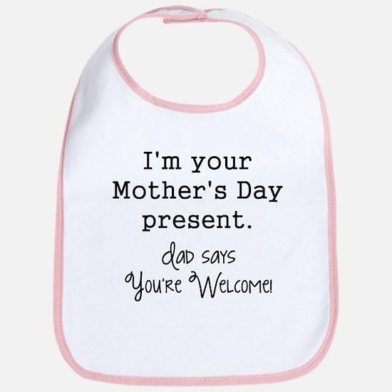 Mother's day Baby Bib