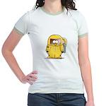 BioHazard Penguin Jr. Ringer T-Shirt