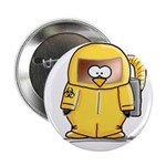 BioHazard Penguin Button