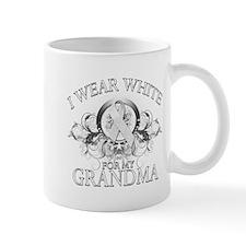 I Wear White for my Grandma ( Mug
