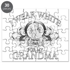 I Wear White for my Grandma ( Puzzle