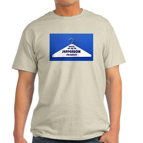 JEFFERSON CLEANERS Ash Grey T-Shirt