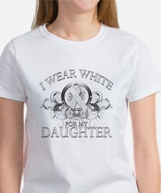 I Wear White for my Daughter Women's T-Shirt