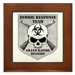 Zombie Response Team: Grand Rapids Division Framed
