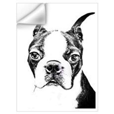 BOSTON TERRIER - DOG Wall Art Wall Decal