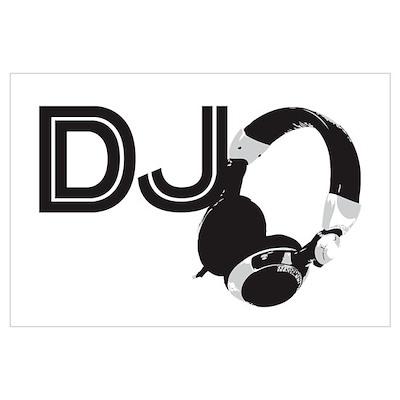 DJ Wall Art Poster