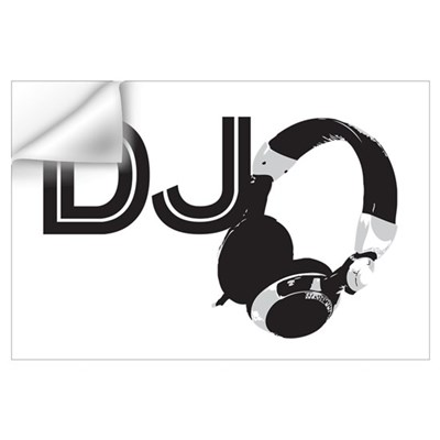 DJ Wall Art Wall Decal
