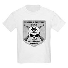 Zombie Response Team: Greensboro Division T-Shirt