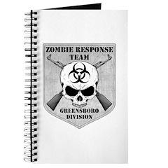 Zombie Response Team: Greensboro Division Journal