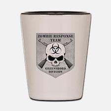 Zombie Response Team: Greensboro Division Shot Gla