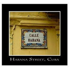 Calle Habana Prints and Cards Wall Art Poster