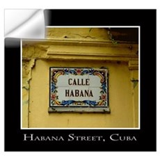Calle Habana Prints and Cards Wall Art Wall Decal