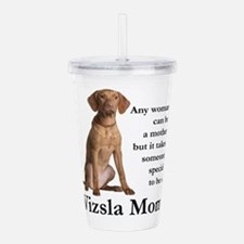 Vizsla Mom Acrylic Double-wall Tumbler