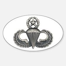 Master Airborne Sticker (Oval)