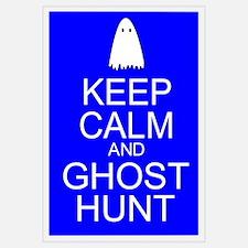 Keep Calm Ghost Hunt (Parody) Wall Art
