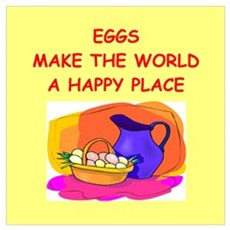 eggs Wall Art Poster