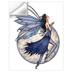 Blue Fairy Wall Art Wall Decal