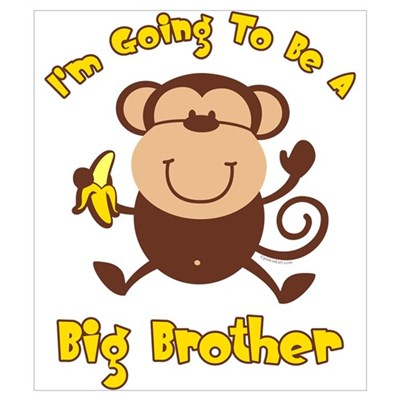 Monkey Future Big Brother Wall Art Poster
