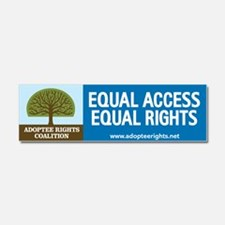 Adoptee Rights Coalition Car Magnet 10 x 3