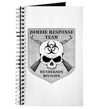 Zombie Response Team: Henderson Division Journal