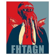 Fhtagn Wall Art Poster