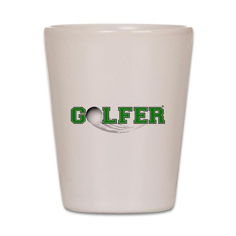 GOLFER Shot Glass