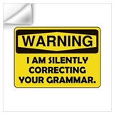 Grammar Wall Decals