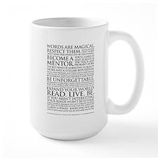 Large Voiceover Talent Manifesto Mug