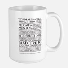 Large Voiceover Talent Manifesto Mug