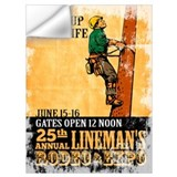 Electric lineman Wall Decals