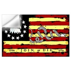 """Revolutionary Flag: Join or Die"" Poster Wall Decal"