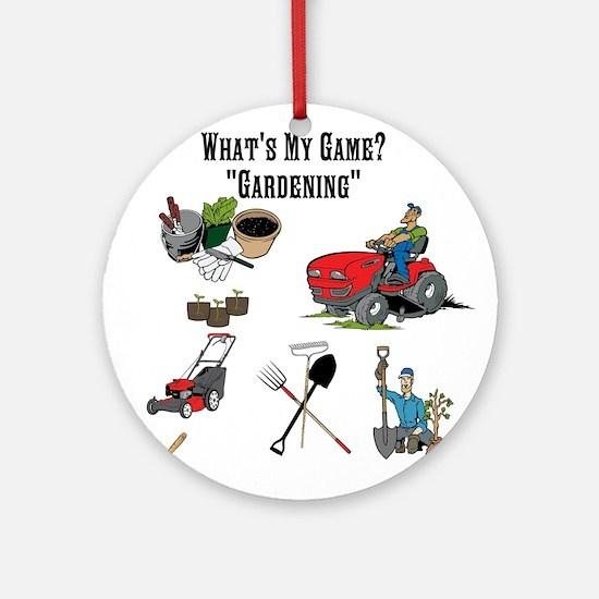 Gardening Ornament (Round)