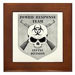 Zombie Response Team: Irvine Division Framed Tile