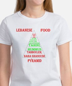 Lebanese Food Pyramid Tee