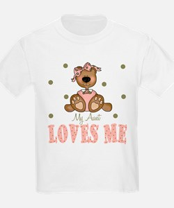 Cute My auntie loves me T-Shirt