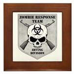 Zombie Response Team: Irving Division Framed Tile