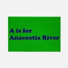 A is for Anacostia River Rectangle Magnet