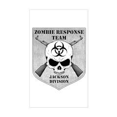 Zombie Response Team: Jackson Division Decal