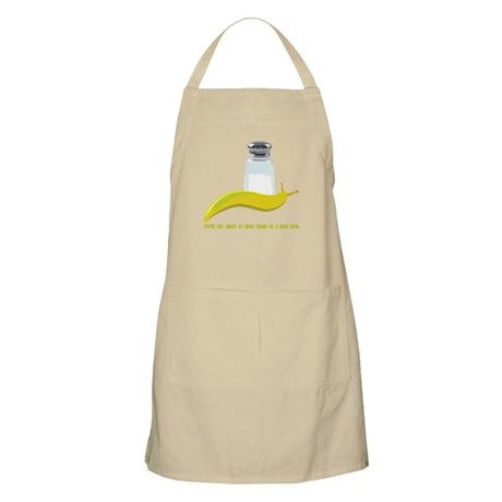 You've got as much charm as a Apron